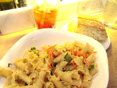 the Granchi De Fiume at Vapiano, Downtown.  soooo yummy and the pasta is so fresh!