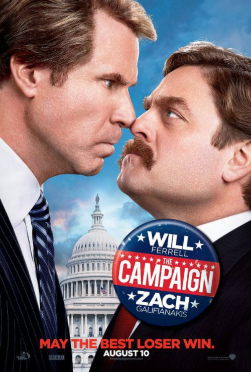 Dear Will Ferrell, How does Zach Galifiankis' mustache smell?Love,HitFix  Watch the trailer for Campaign…on second thought why don't you watch the teaser for Anchorman 2 instead. It will probably be a funnier movie.