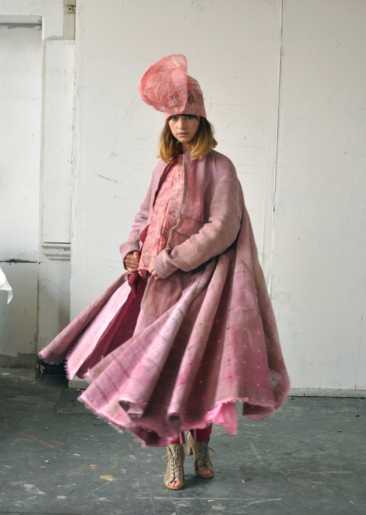 Photoshoot at ECA today. This one if from a graduate collection by Emma Hardstaff