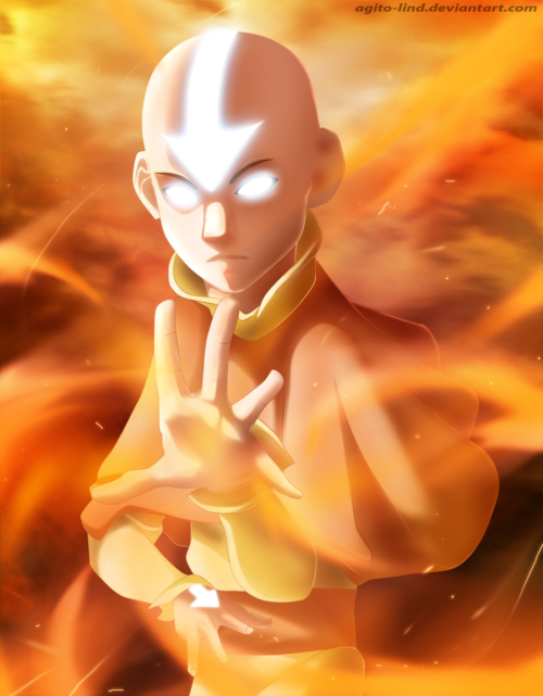 Avatar Aang by ~Agito-Lind