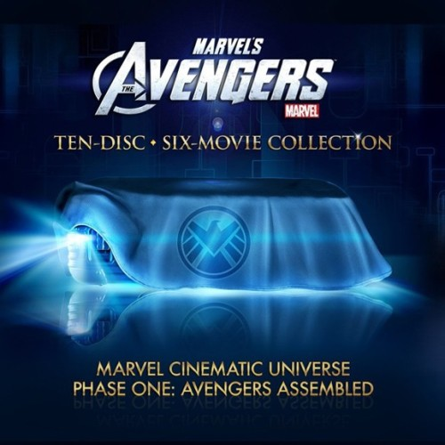 Marvel Cinematic Universe: Phase One 10 discs and 6 movies - so much Blu-ray goodness. My perfect Christmas present.