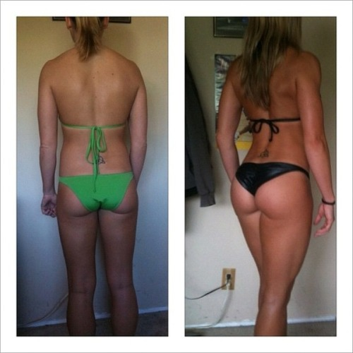 wont-quit-till-im-fit:  do your squats!!!   reblogging again!!, her legs and ass are immense :')