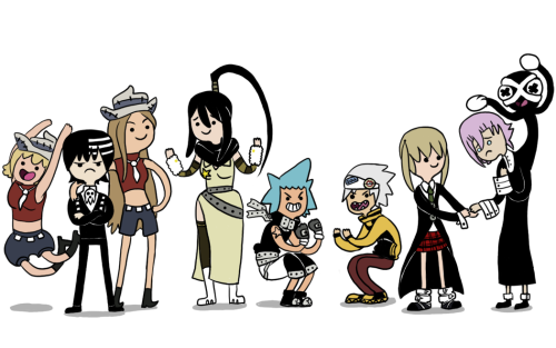 The first of my AT style series- Soul Eater!