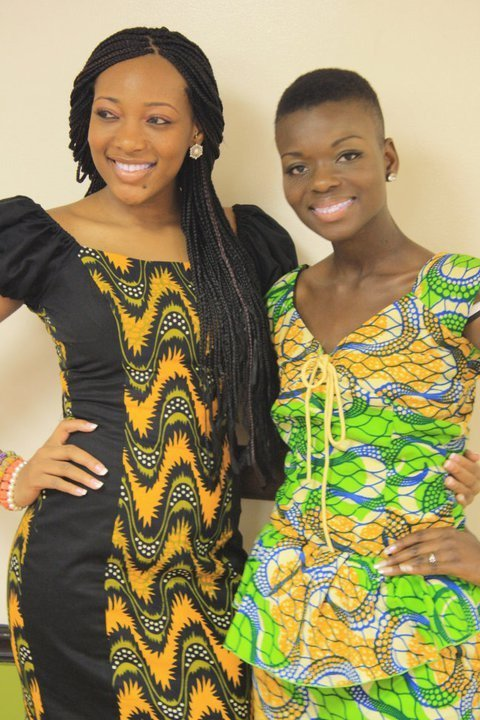 blackfashion:  Miss Nigeria USA & Miss Ghana USA 2011-2012 chichiandkracktumblr.com