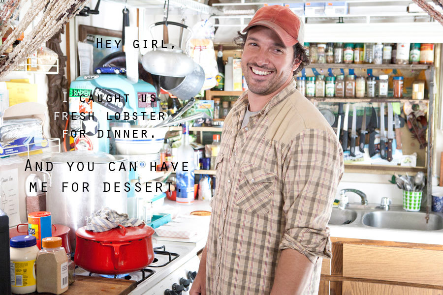 Ben Sargent - chef/TV personality - lobstah babe.