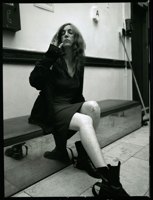 mianoti:  Patti Smith by Steven Sebring