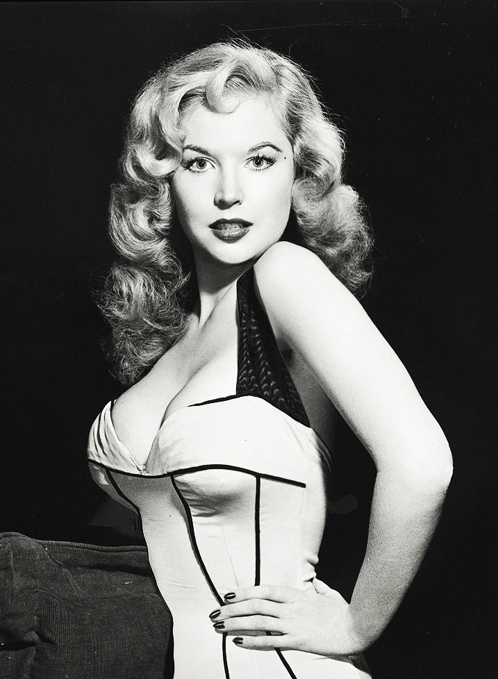 vintagesonia:  Betty Brosmer, C. 1950's