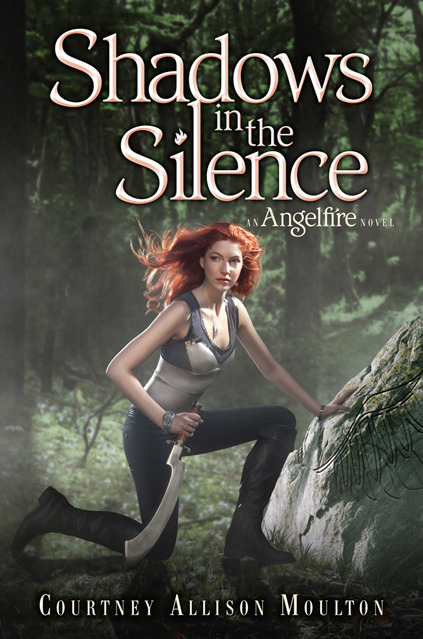 Cover Reveal for Courtney Allison Moulton's 'Shadows in the Silence' the final Angelfire book.