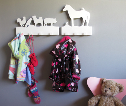 Animal hangers by Hár úr Hala, available at Reykjavik Corner Store