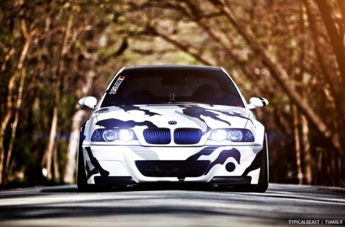Oh dat camo! [M3OTD] be sure to follow for more daily M3 posts!  via Stance Nation & Jeremy Cliff