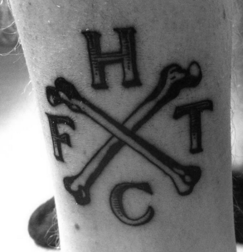 Another Ft tattoo of the logo I designed, which is just nuts.