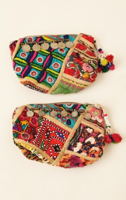 Crazy in love with Rajasthan Gypsy style boho clutches