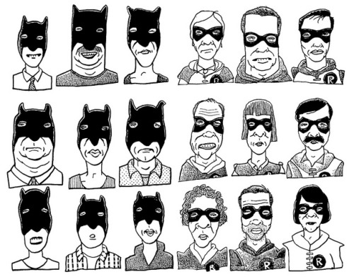 Batmans and Robins by Don Moyer on Flickr.