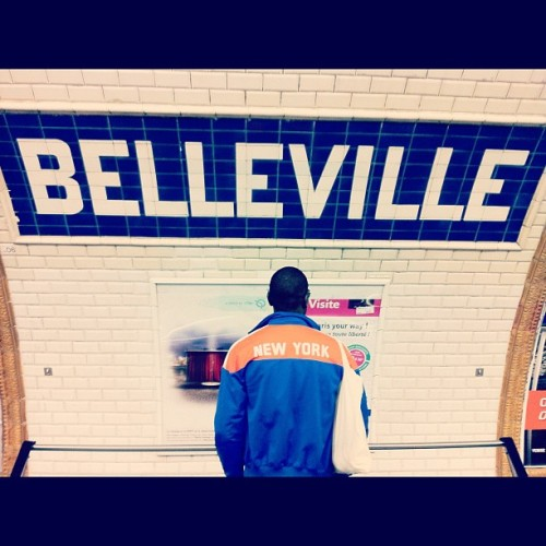 #Belleville #Paris #Newyork #asianmami #loveyoulongtime (Taken with Instagram at Hoa Hung)