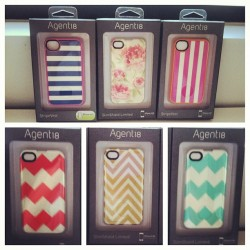 thezoereport:  We're all obsessing over our new iPhone cases at TZR HQ - thank you Agent 18!! (Taken with instagram)