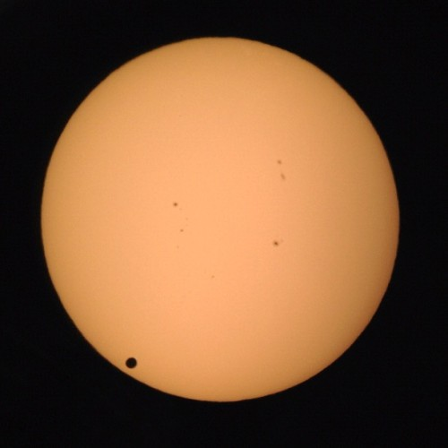 Last pic I'll be posting of the #venustransit I hope you enjoyed them! (Taken with instagram)
