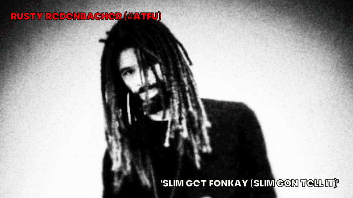 #ATFU #LOWER   'Slim Get Fonkay (Slim Gon Tell It)' soon…  Change of plans, party people….  Produced, recorded, and mixed this one last night. Came on in the truck just now and I realized I wanna give y'all a proper introduction to the voice of Naptown Slim.   Instead of dropping 'GMGC (Slim's Take), I'll be giving y'all 'Slim Get Fonkay (Slim Gon Tell It)' on my Bandcamp page in the very very near future.   Soon, y'all. Let me tell it before I sell it. This one is on me.   #ATFU  RR