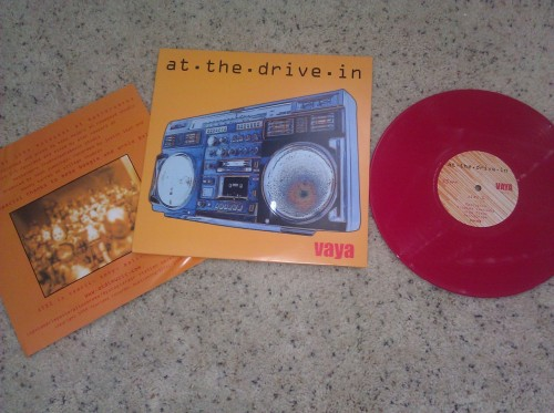 "At The Drive In - Vaya EP 10"" Repress on RED Vinyl  Hot Topic exclusive /1000"