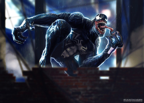 all-about-villains:  Venom : By Mattias Fahlberg / Blog