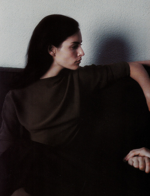 Danielle Zinaich in Vogue Italia July 1997 by Steven Meisel
