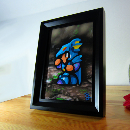 like-likes:  Dragoon in the Mist 5x7 FRAMED PRINT by ~likelikes  Kain isn't a bad guy. Sure maybe he's had a bit of a bad habit working for pretty bad people and doing their evil biddings… sure he secretly loves his best friend's girl and uses that as motivation to screw him over, but he's not a bad guy, really. It's all Golbez's fault! Right? Might as well Jump! Jump! Go Ahead. Jump.Check it out here: http://likelikes.storenvy.com/   These are great! I just found out about Like Likes art yesterday and decided I definitely need some for my apartment. I'm torn between ordering the four FF4 characters or the Link vs Helmasaur. Lauren, my fiancee, will no doubt want the Sonic one. I'm incredibly excited about all the video game art that is going to be in our house! Perhaps I'll make a post soon about my favorite video game related artists.  Also, Like Likes, if you're reading this, any chance of you doing a piece of a boss character from FF4 that could be hung on the wall opposite of the heroes?