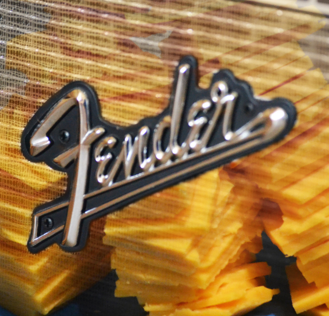 Cheese supporting Fender.