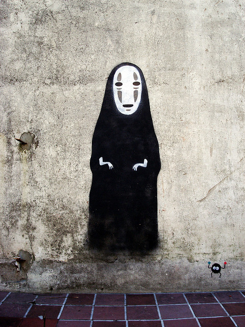 polagram:  i love no face