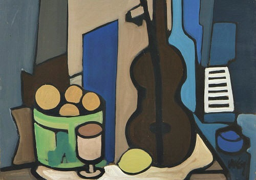 Markey Robinson Still Life with Guitar & Lemon 2008