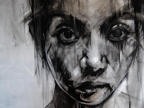 Russ Mills (Byroglyphics), one of my favorite underground painters in the UK.