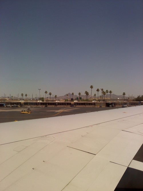 June 5 - Travel day. Hellooo Phoenix airport! Back to the #bestcoast.