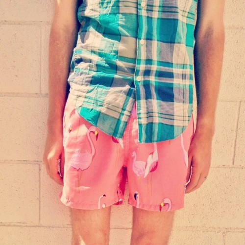 Quick getaway to Palm Springs. Shorts: AMBSN - $80 (Urban Outfitters)