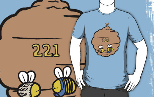 cumberbitchsandwich:  geothebio:  221 Bee Baker Street on Redbubble  Holy fuck I'm fucking buying one. JFC NEEDNEEDNEED