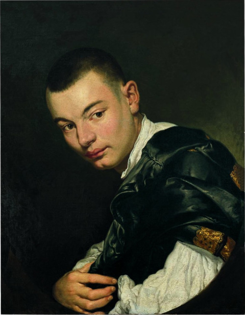 Giacomo Antonio Melchiorre Ceruti (Pitocchetto), Portrait of a Young Man, 18th century