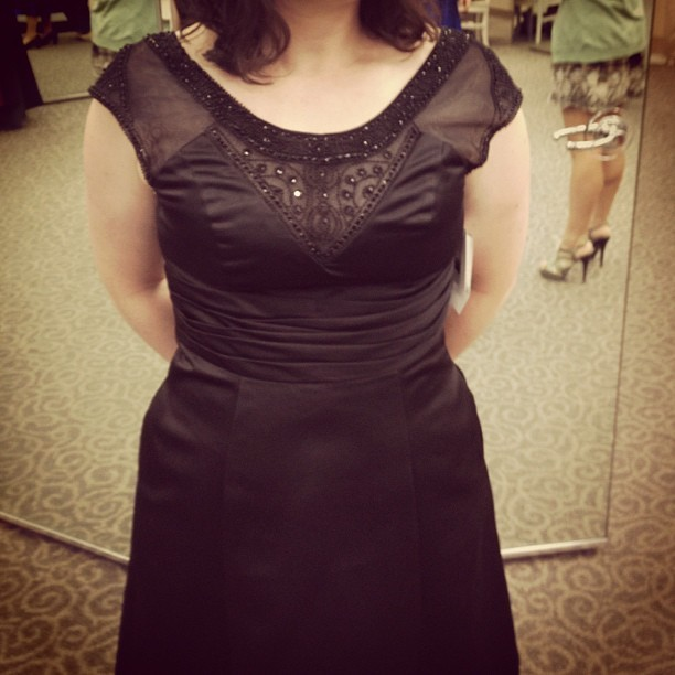 This is the dress my bridesmaids are wearing. (Taken with instagram)