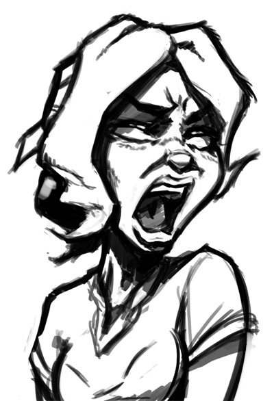 Scream!!! Just as expected, that was really hard. Hopefully I'll do it better next time.