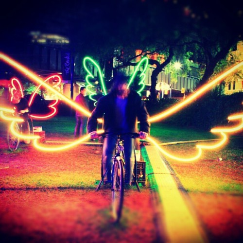 Spread your wings at #vividsydney By: Seamus Macleod (Taken with instagram)