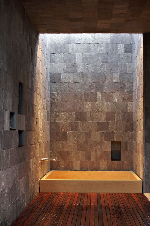 unknownskywalker:  Creekside Residence by Bohlin Cywinski Jackson