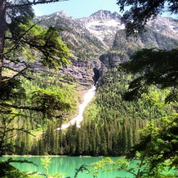 Avalanche Lake, Glacier Nat. Park. #landscape #nature #hike (Taken with instagram)