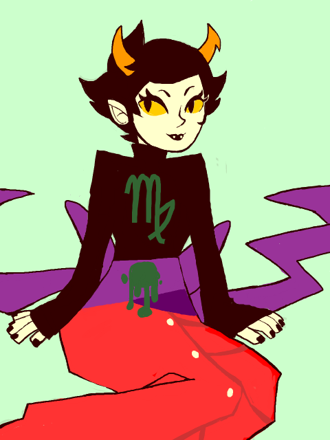 i am in a bad mood so i drew kanaya