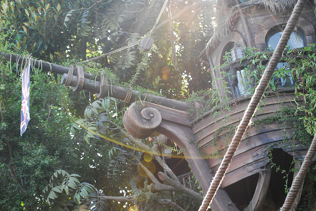 Tarzan's Treehouse by Kimmity on Flickr.