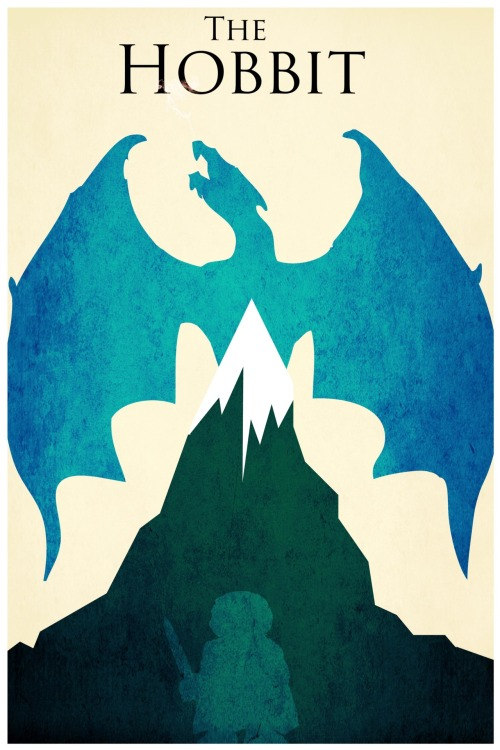 fuckyeahmovieposters:  The Hobbit by Harshness  Ready.