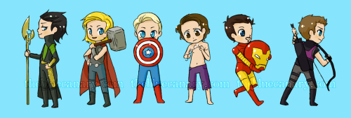 meet-the-avengers:  source  Ugh, GOD I LOVE CHIBIS SO MUCH