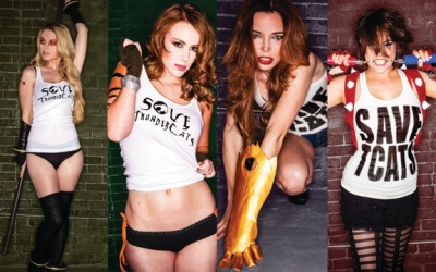 Our own Marisha Ray rallies her friends together to save the Thundercats!  Check it out, won't you?  savethundercats:  Hey everybody!  The Save Thundercats campaign is officially underway.  SIGN THE PETITION, check out the photos, and tell us what you think.  Let's win one for quality programming!