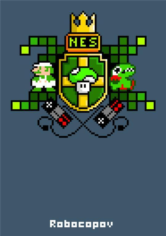 assorted-goodness:  NES Generation - by Robocopov