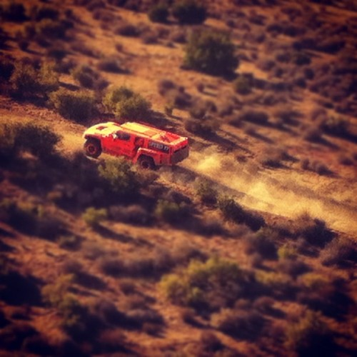 "RG cruising during the #Baja500 ""Happy to finish but disappointed we didn't get what we came for."" The Dakar HUMMER finished 19th. (Taken with instagram)"