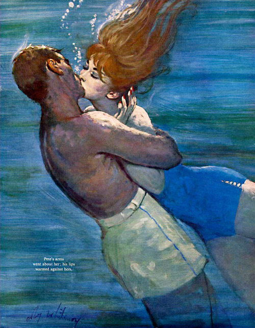 "whatsjohnbeensmoking:  Coby Whitmore (5/30) ""Love Isn't Logical""; December 1959."