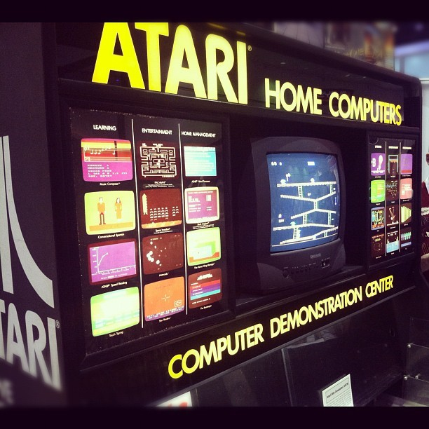 Video game history museum #e3 #atari (Taken with Instagram at E3 Expo 2012)