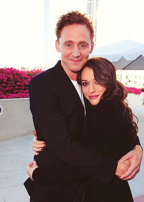 95/100: Tom Hiddleston (with Kat Dennings)