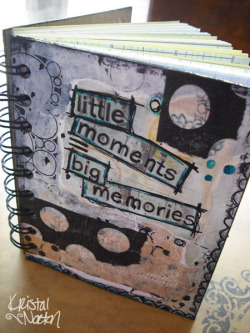 A little journal for keeping note of special moments. :)