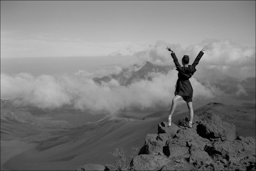 ballerinaproject:     Zarina - Haleakala, Maui Become a fan of the Ballerina Project on Facebook. Follow the Ballerina Project on Pinterest